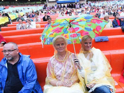 Август - последний летний месяц в Праге, характеризующийся своей непредсказуемостью