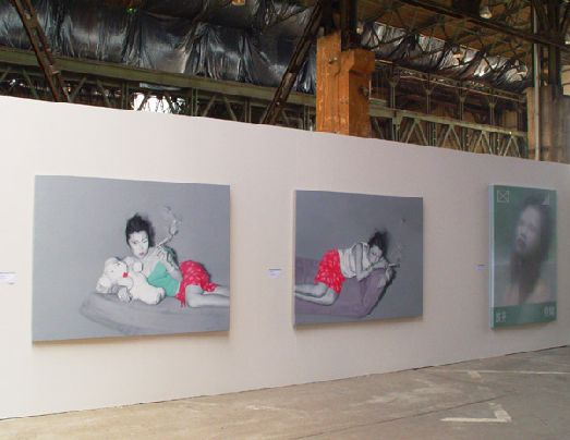 Выставка картина на Биеннале