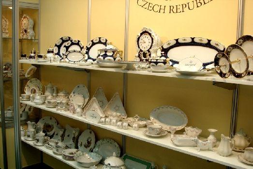 В Чехии работает около 10 заводов по производству фарфора
