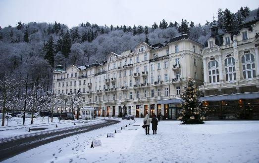 Декабрь в Карловых Варах может выдаться как снежным, так и наоборот
