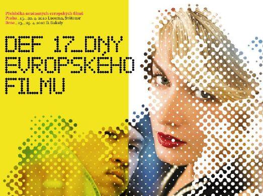 Афиша к фестивалю «Dnů evropského filmu»