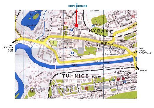 Карта дорог и парковок города