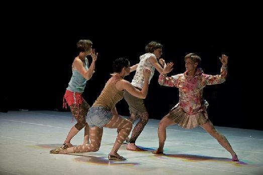 Выступления фестиваля «Česká tanečni platforma»