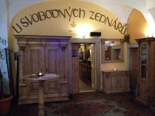 Ресторан у вольных каменщиков находится в здании 15 века!