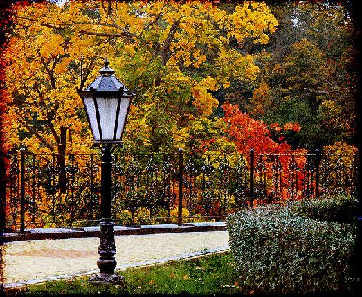 Осень в Карловых Варах очень красива