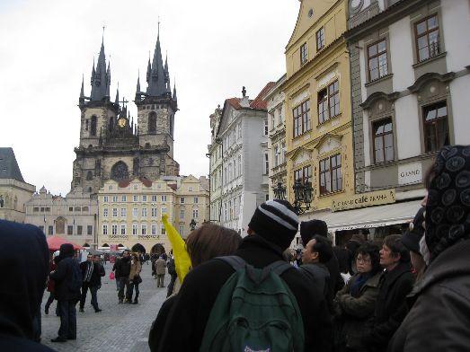 В марте в Праге ещё холодно, но всё живое вокруг свидетельствует приход долгожданной весны