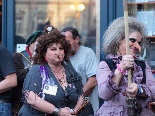 К «Ночи Ведьм» будущие участники готовятся очень тщательно - чего только стоят наряды