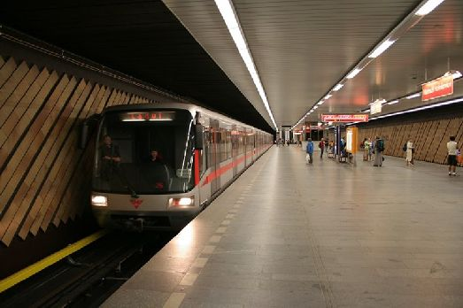 Метро в Праге - популярный вид транспорта