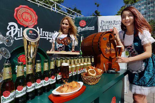 Ежегодно Pilsner Urquell организует в Пльзене грандиозный пивной фестиваль
