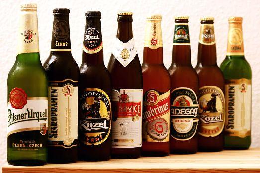 Сортов пива в Чехии не счесть, но все-же есть наиболее популярные..