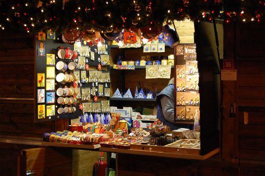 На Рождественских базарах Праги просто глаза разбегаются