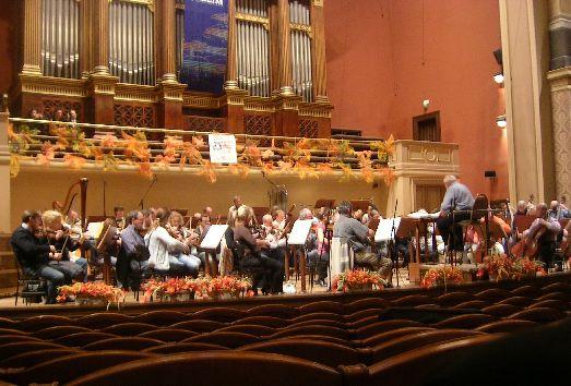 Музыкальный фестиваль Пражской осени, симфонический концерт
